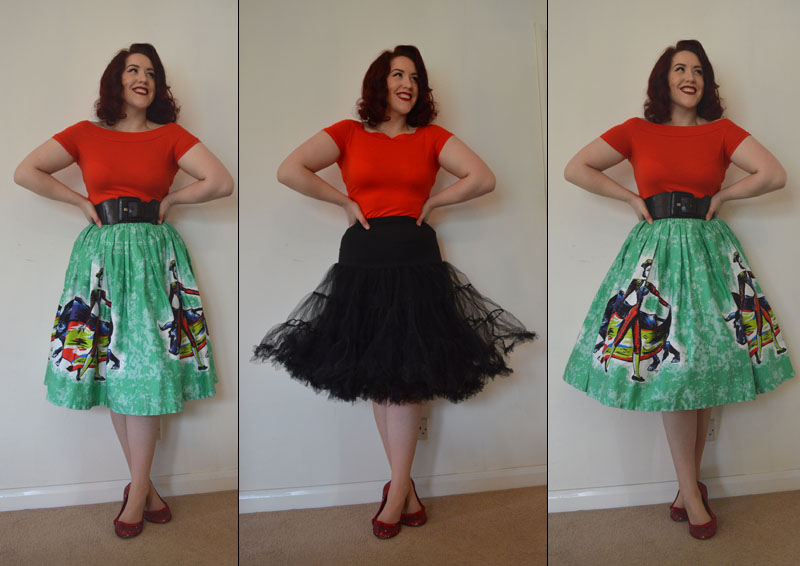 Getting Puffy With Lindy Bop Petticoat Review Miss Amy May