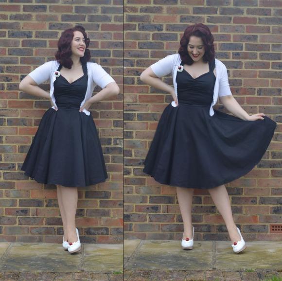 Doll Me Up Darling Black Evening Dress