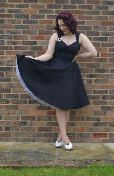 Doll Me Up Darling Black Evening Dress