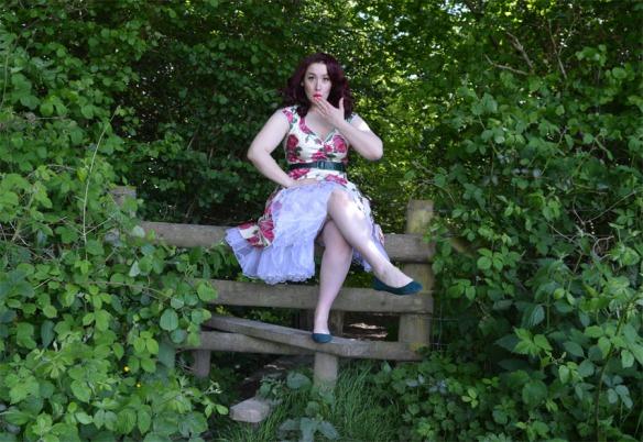 isabella dress lady v london