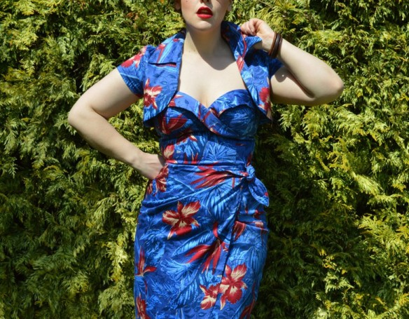 Pinup Girl Clothing Malibu Tiki dress
