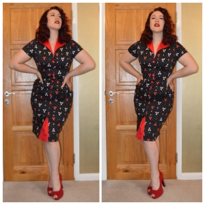Voodoo Vixen Juicy Lucy dress, everything5pounds.com heels