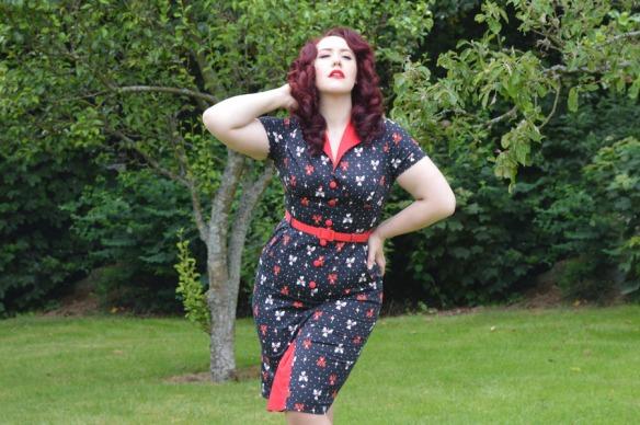 Voodoo Vixen Juicy Lucy Dress