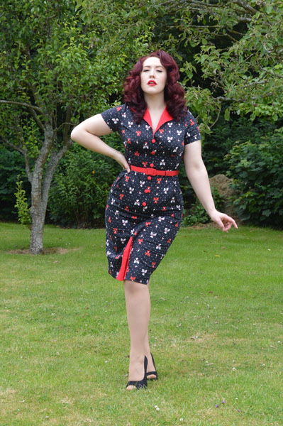 Voodoo Vixen Juicy Lucy Dress