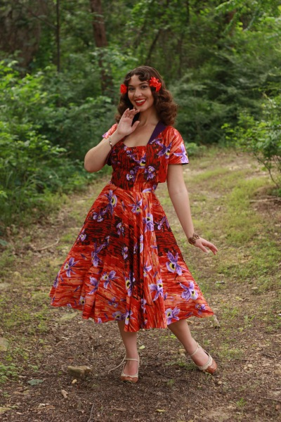 Sarah Forshaw Hawaiian Hideaway Pinup Girl Clothing