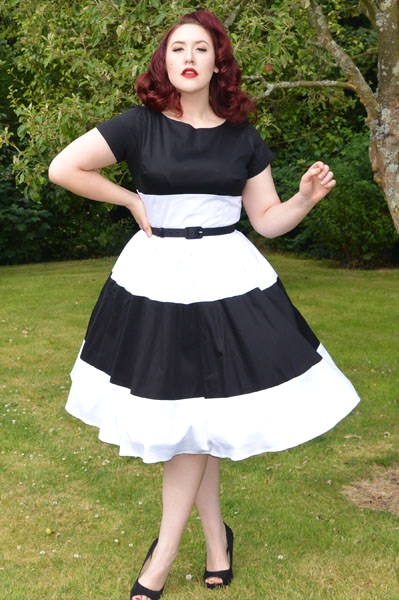 Pinup Girl Clothing Amanda Dress Junebugs & Georgia Peaches