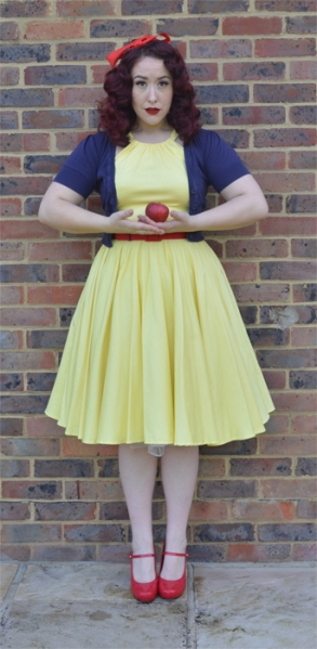 Pinup Vintage Snow White Easy Halloween costume fancy dress
