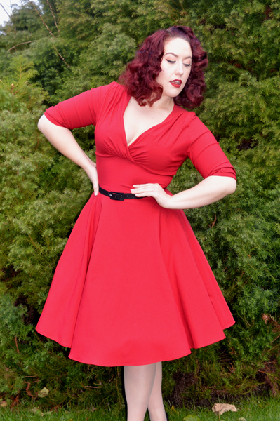 Unique Vintage Delores Dress