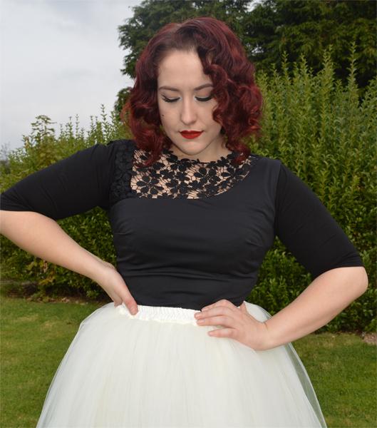 Wingz Fashion black half sleeve