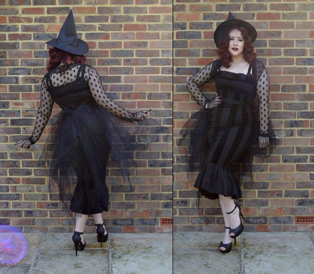 pinup halloween witch miss amy may