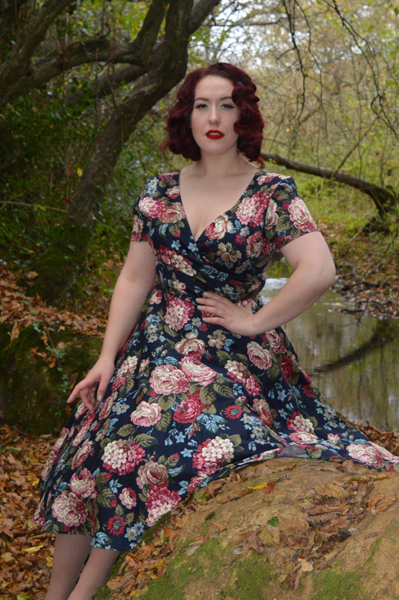 Maria Woodland Bloom Dress Collectif