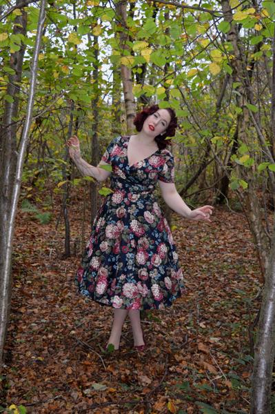 Maria Woodland Bloom Dress Collectif