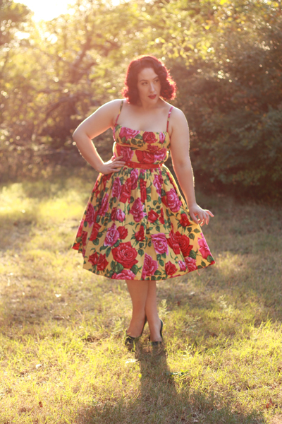 Doll Me Up Darling sunrise to sunset Dress