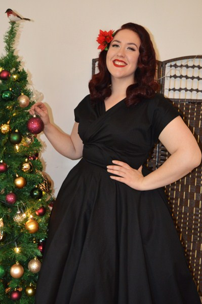 Vivien of Holloway Grace Cotton Sateen dress