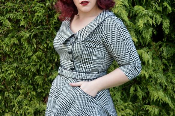 Voodoo Vixen Tiger-Lilly dress