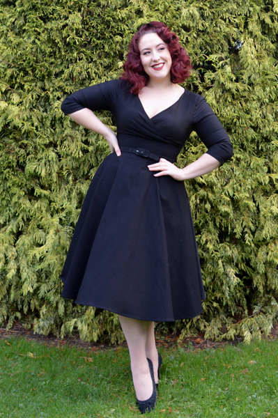 Pinup Girl Clothing Couture Erin Dress Black