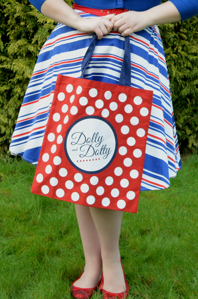 Dolly & Dotty Poppy Stripe Dress