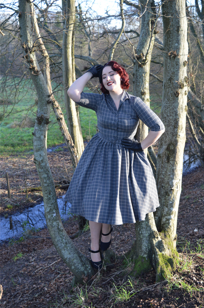 Idda Van Munster Miss Candyfloss 50s Tartan Dress