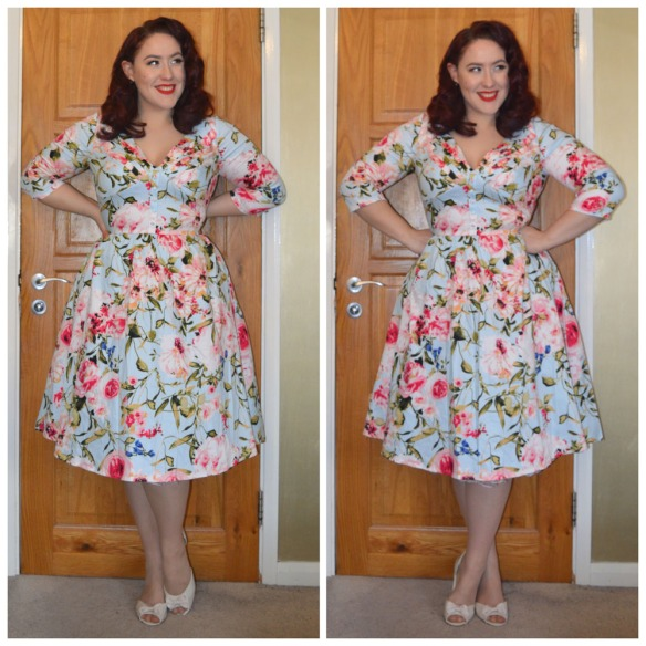 Rosie dress by Voodoo Vixen, old season Primark flats