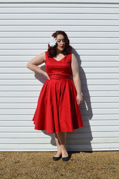 Red HavanaDress by Pinup Girl Clothing Couture