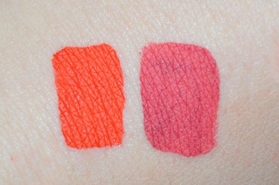 LA Girl Matte Pigment Gloss Swatches Instinct Bazaar