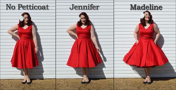 Malco Modes Jennifer Madeline Petticoat comparison