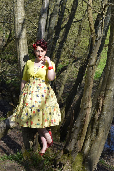 Voodoo Vixen Sylvia dress