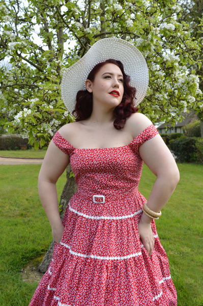 Collectif Aida Zak Red Erina dress