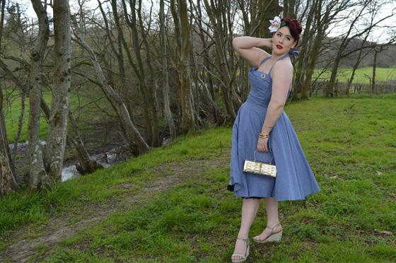 Trashy Diva Trixie chambray dress