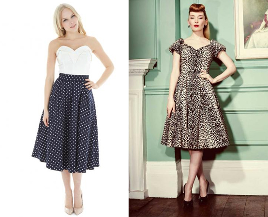 The Pretty Dress Company Dovima Atelier leopard dress 50s Bustier top
