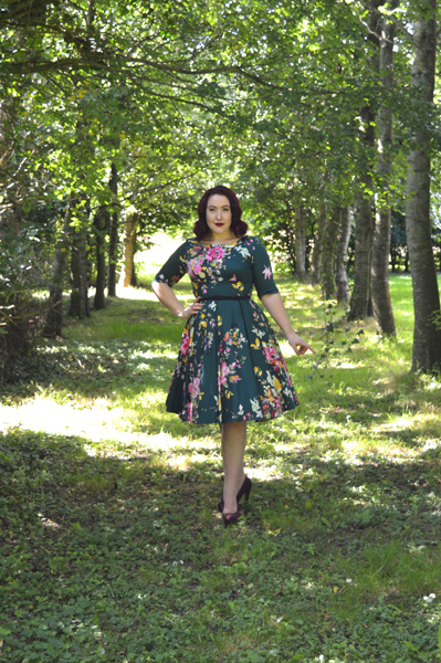 The Pretty Dress Company Forest Seville Hepburn Dress