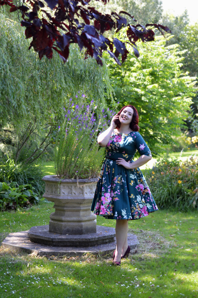 The Pretty Dress Company Forest Seville Hepburn Dress