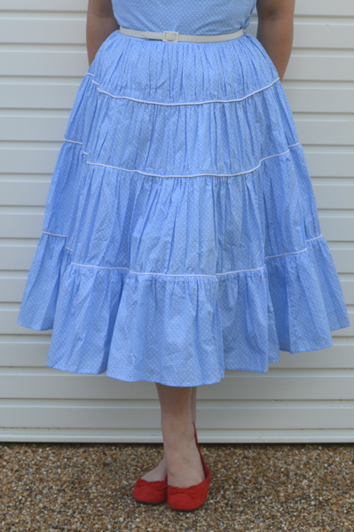 Blueberry Hill Fashions Marilyn Monroe Blue Reproduction Dress