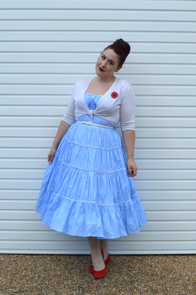 Blue Clouds [Banned Petticoat Review] | Miss Amy May