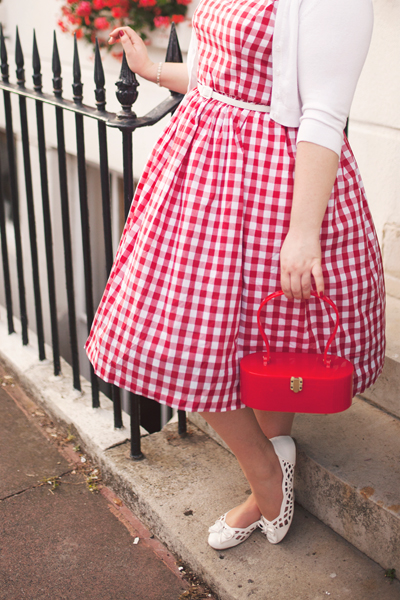 Hearts and Found custom Sunday Picnic Gingham Penelope Dress