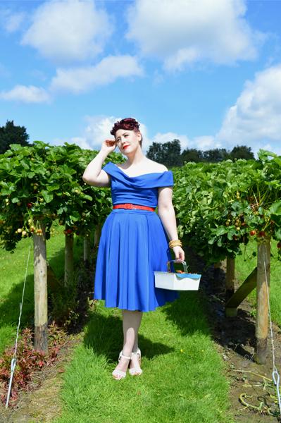 48badf157d The Pretty Dress Company Cobalt Blue Thea Prom Dress Swing
