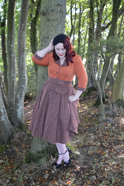 Miss Candyfloss Librarian Collection Chloe-Britt Dress