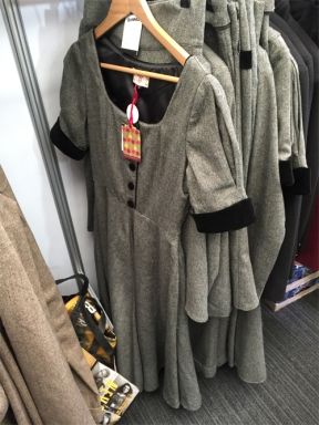 Grey tweed dress and separates