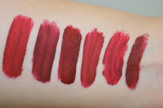 Jeffree Star Velour Liquid Lipstick Swatches review flash compared