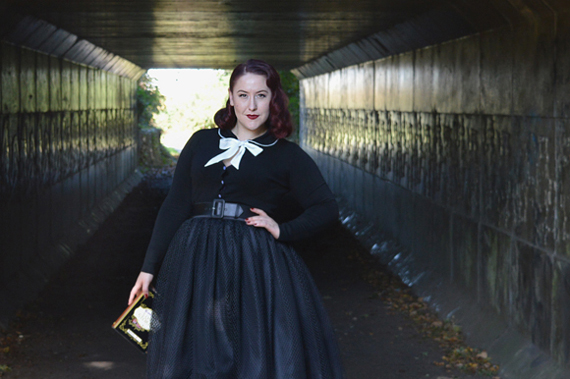 Voodoo vixen Katy pearl cardigan