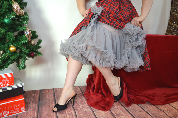Doris Designs Petticoat grey 26 inch