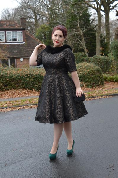 Collectif Juliette Jacquard Swing Dress