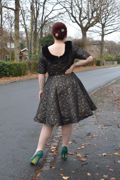 Collectif Juliette Jacquard Swing Dress