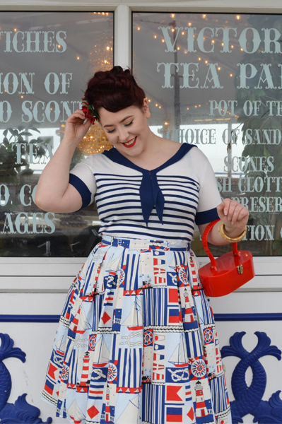 489d4afa60 ... Hell Bunny Coco Top and Lighthouse 50s Skirt ...