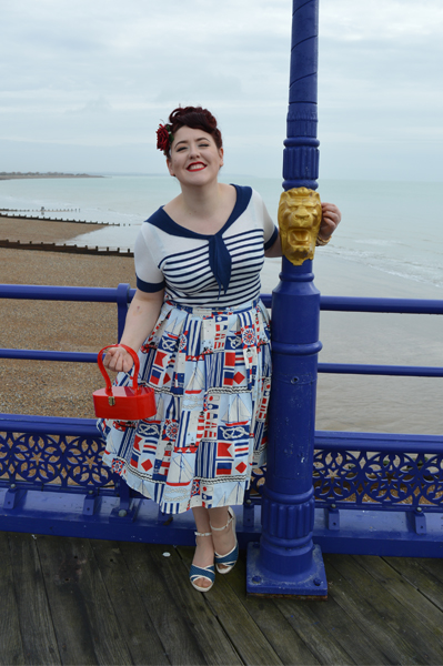 Hell Bunny Coco Top and Lighthouse 50s Skirt