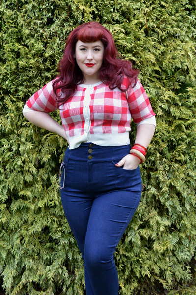 Collectif Nomi High Waisted Pants Jeans