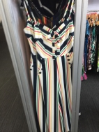 Excitedly blurry awesome striped jumpsuit