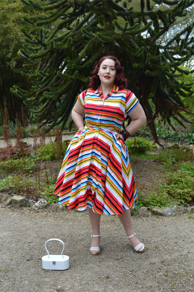 Del Ray dress Unique Vintage plus