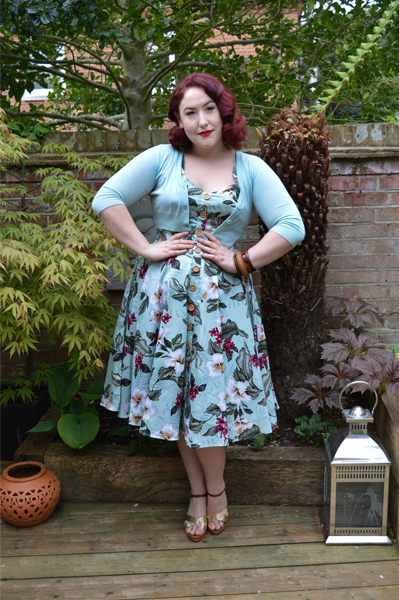 Tahiti 50s Dress Hell Bunny