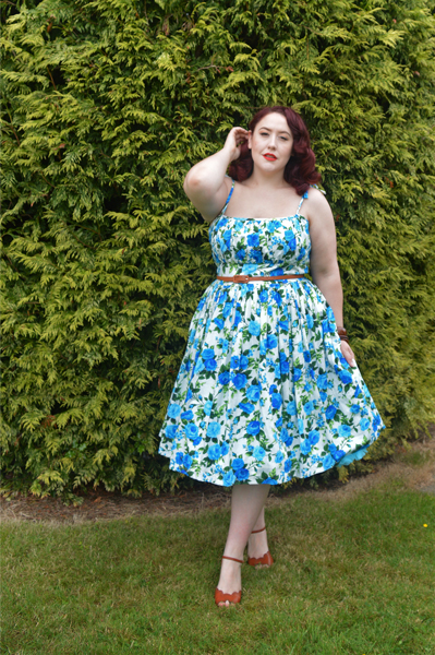 Rosewall Kelly dress Hearts and Found custom made